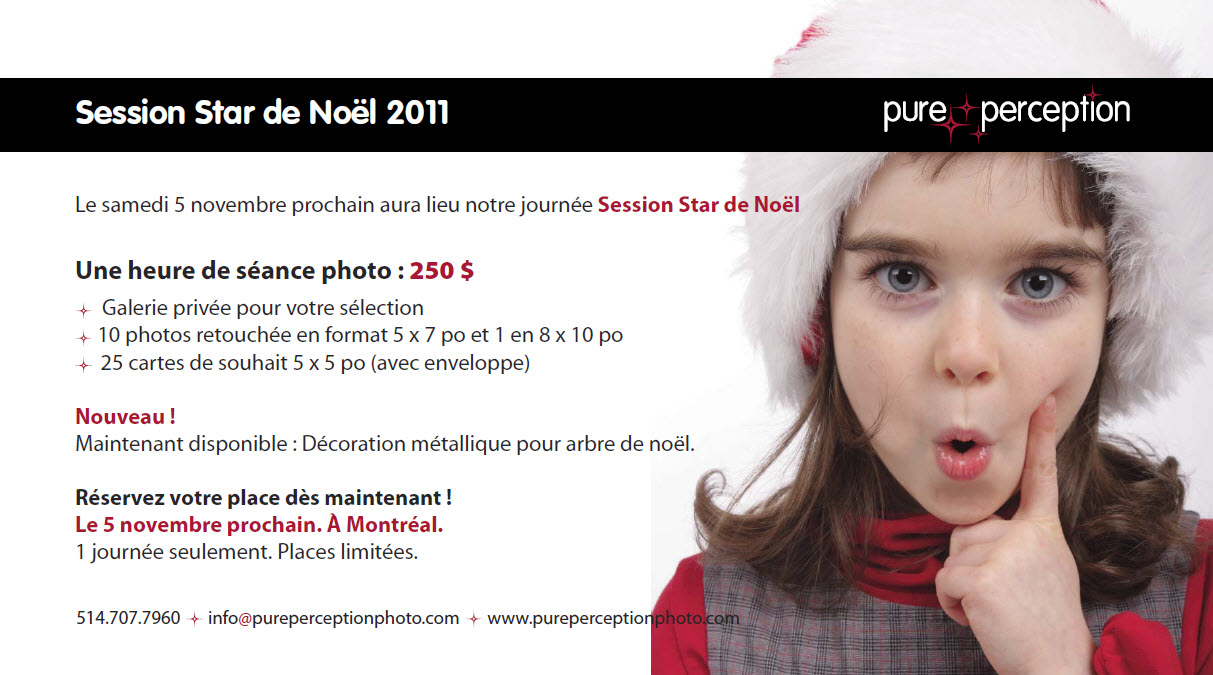 Session Star de Noël 2011